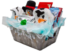 Load image into Gallery viewer, Cozy and Sweet Snowman Retreat Holiday Gift Side