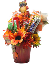Load image into Gallery viewer, Curious Owl Candy Bouquet Side