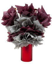 Load image into Gallery viewer, Dark Chocolate Lovers Candy Bouquet Back