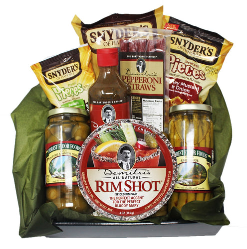 Demitris Chilies Peppers Bloody Mary Mix Cocktail Mocktail gift basket
