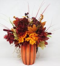Load image into Gallery viewer, Fall Pumking Bouquet Back