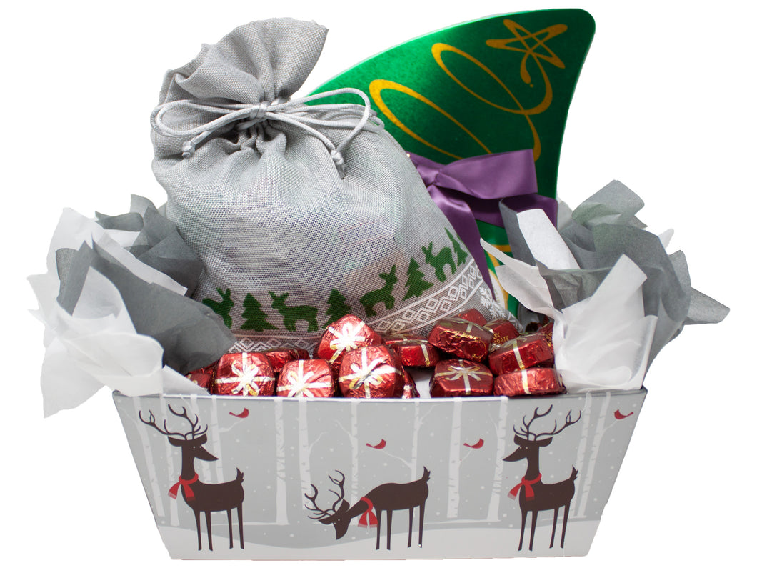 Family & Friends Unique Holiday Premium Chocolate Gift Basket