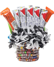 Load image into Gallery viewer, Formula 1 Race Car Candy Bouquet Back