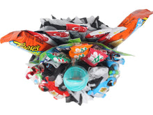 Load image into Gallery viewer, Formula 1 Race Car Candy Bouquet Top