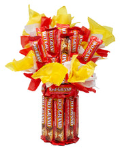 Load image into Gallery viewer, 100 Grand Full & Fun Size Candy Bar Bouquet