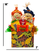 Load image into Gallery viewer, Fun Fall Candy Gift Box Dimensions