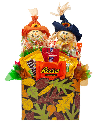 Fun Fall Candy Gift Box Front