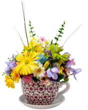 Load image into Gallery viewer, Giant Teacup Floral Arrangement