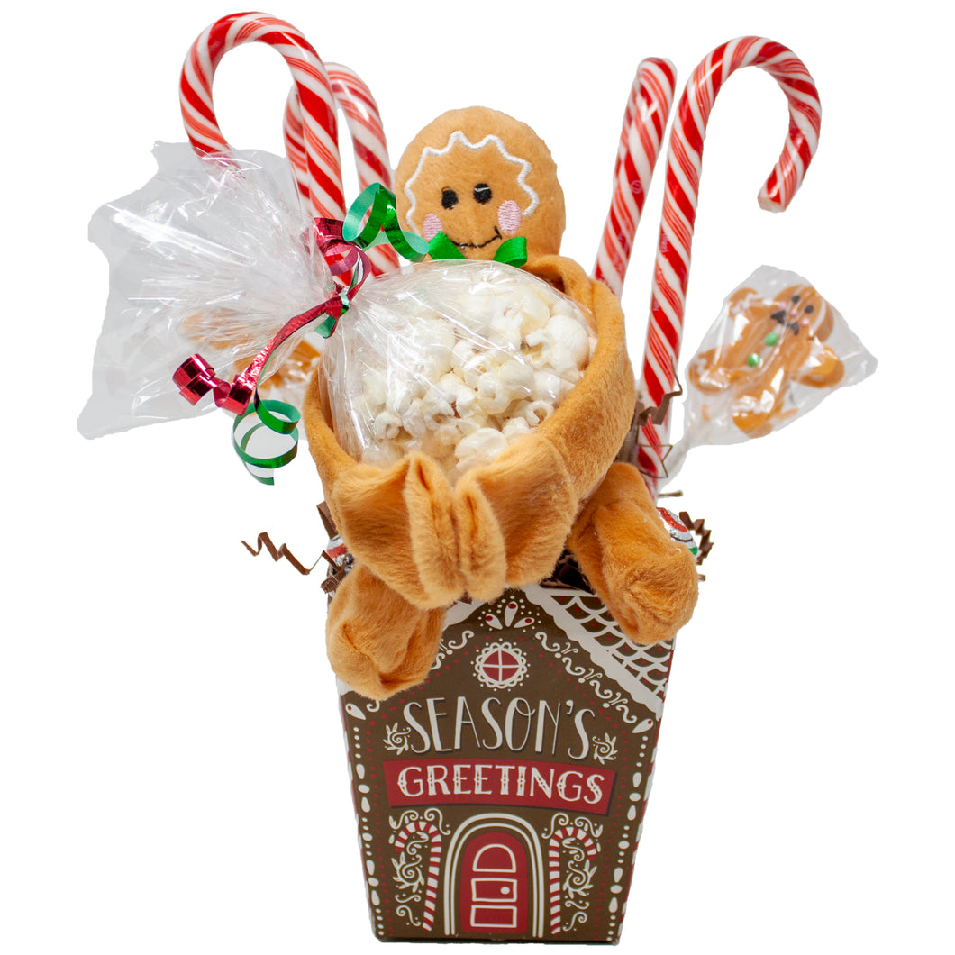 Gingerbread Man's House Holiday Gift