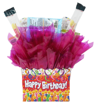 Load image into Gallery viewer, Gluten Free Happy Birthday Box Back pk