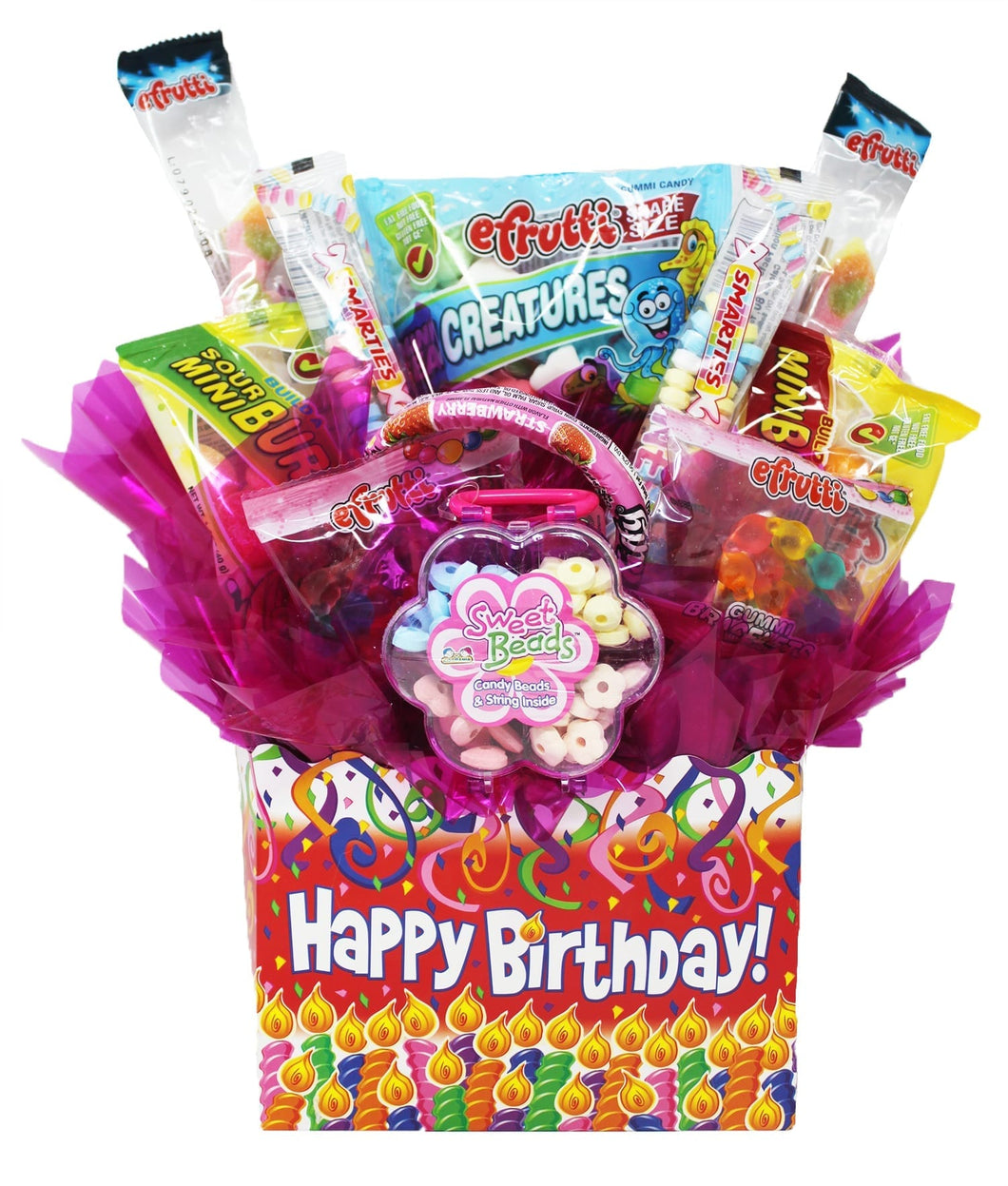 Gluten Free Happy Birthday Box Front Pk