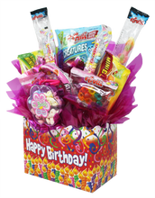 Load image into Gallery viewer, Gluten Free Happy Birthday Box Side Pk