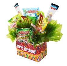 Load image into Gallery viewer, Gluten Free Kids Birthday Box Side View