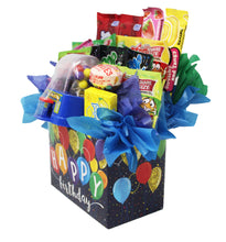 Load image into Gallery viewer, Happy Birthday Balloons Candy Gift Box Slam Dunk side view