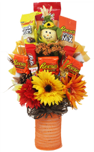 Load image into Gallery viewer, Happy Fall YAll Candy Bouquet Front View