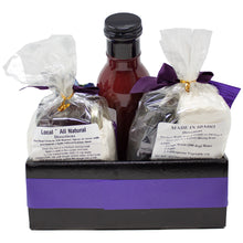 Load image into Gallery viewer, Huckleberry Specialty Food Gift Basket Made in Idaho | Unique Family Gifts