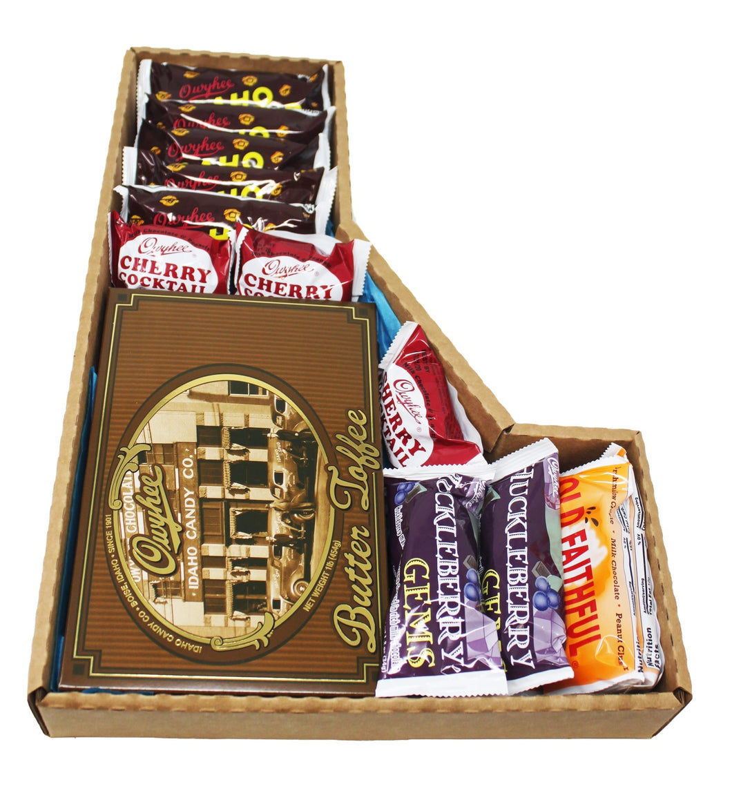Idaho Nostalgic Candy Variety Pack Collectible Idaho Box Top