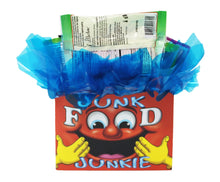 Load image into Gallery viewer, Edible Gift Junk Food Junkie Gift Box back