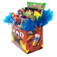 Load image into Gallery viewer, Edible Gift Junk Food Junkie Gift Box side
