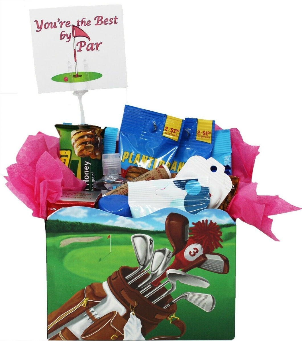 Golf Gift Idea for Her best by par gift box