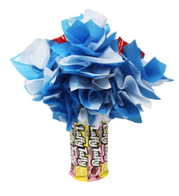 Load image into Gallery viewer, Candy Bouquet with Laffy Taffy Base Back View