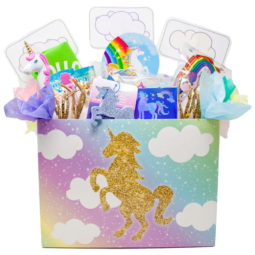 Magical Unicorn Gift Box Front
