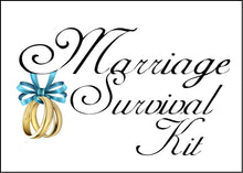 Load image into Gallery viewer, Marriage Survival Kit Logo