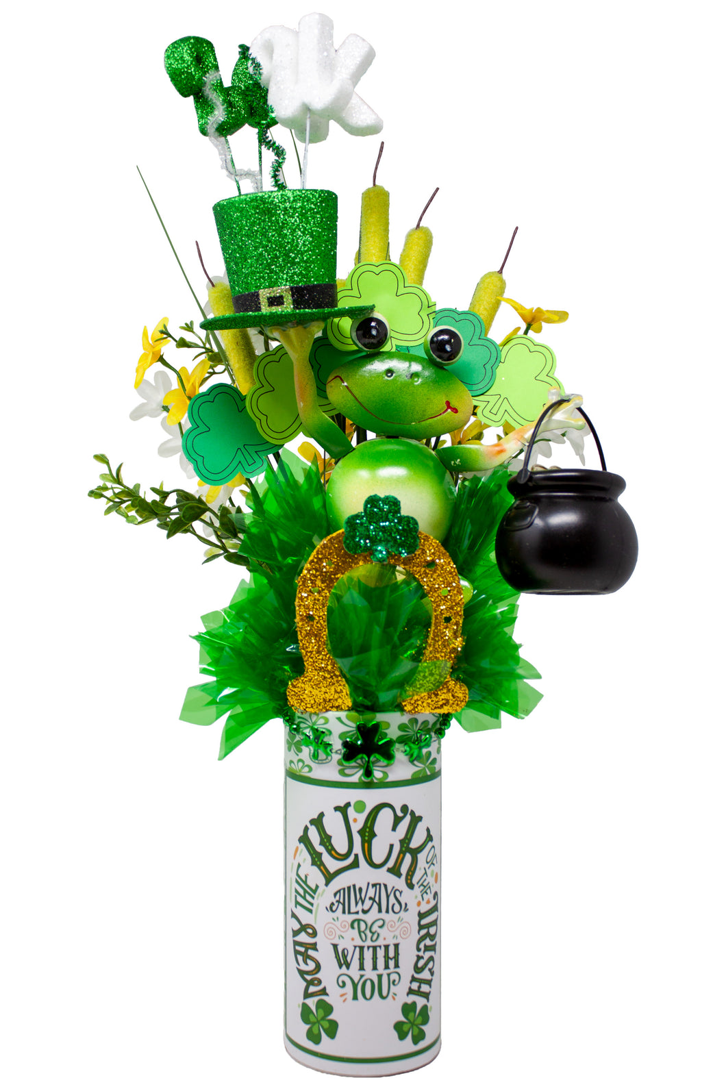 May the Luck of the Irish be with you | St Patrick's Day Arrangement