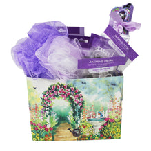Load image into Gallery viewer, Home Spa Gift Set Lavender Themed Front View
