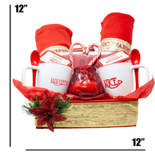 Load image into Gallery viewer, Naughty Nice Premium Couples Gift Basket Dimensions