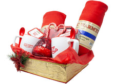 Load image into Gallery viewer, Naughty Nice Premium Couples Gift Basket Side