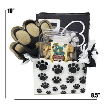 Load image into Gallery viewer, New Puppy Dog Gift Box image showing dimensions 10 x 8.5