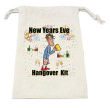 Load image into Gallery viewer, New Years Eve Hangover Kit Male Empty Bag