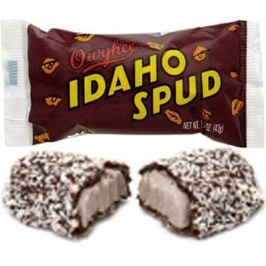 Owyhee Idaho Spud Chocolate Candy Bars 18 count case