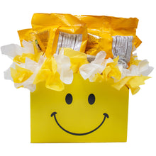 Load image into Gallery viewer, Peanut MM Candy Bouquet Gift Box Back