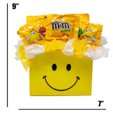 Load image into Gallery viewer, Peanut MM Candy Bouquet Gift Box Dimensions
