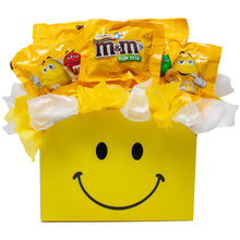 Load image into Gallery viewer, Peanut MM Candy Bouquet Gift Box Front