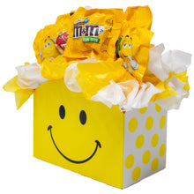 Load image into Gallery viewer, Peanut MM Candy Bouquet Gift Box Side Alternative