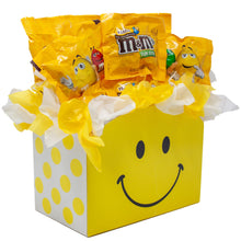 Load image into Gallery viewer, Peanut MM Candy Bouquet Gift Box Side