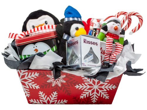 Penguin Gift for the Holiday Front