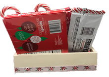 Load image into Gallery viewer, Peppermint Lovers Gift Basket a Unique Holiday Gift Idea for Friends back view