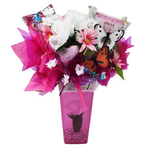 Load image into Gallery viewer, Princess Gifts Candy Bouquet image showing back of arrangement