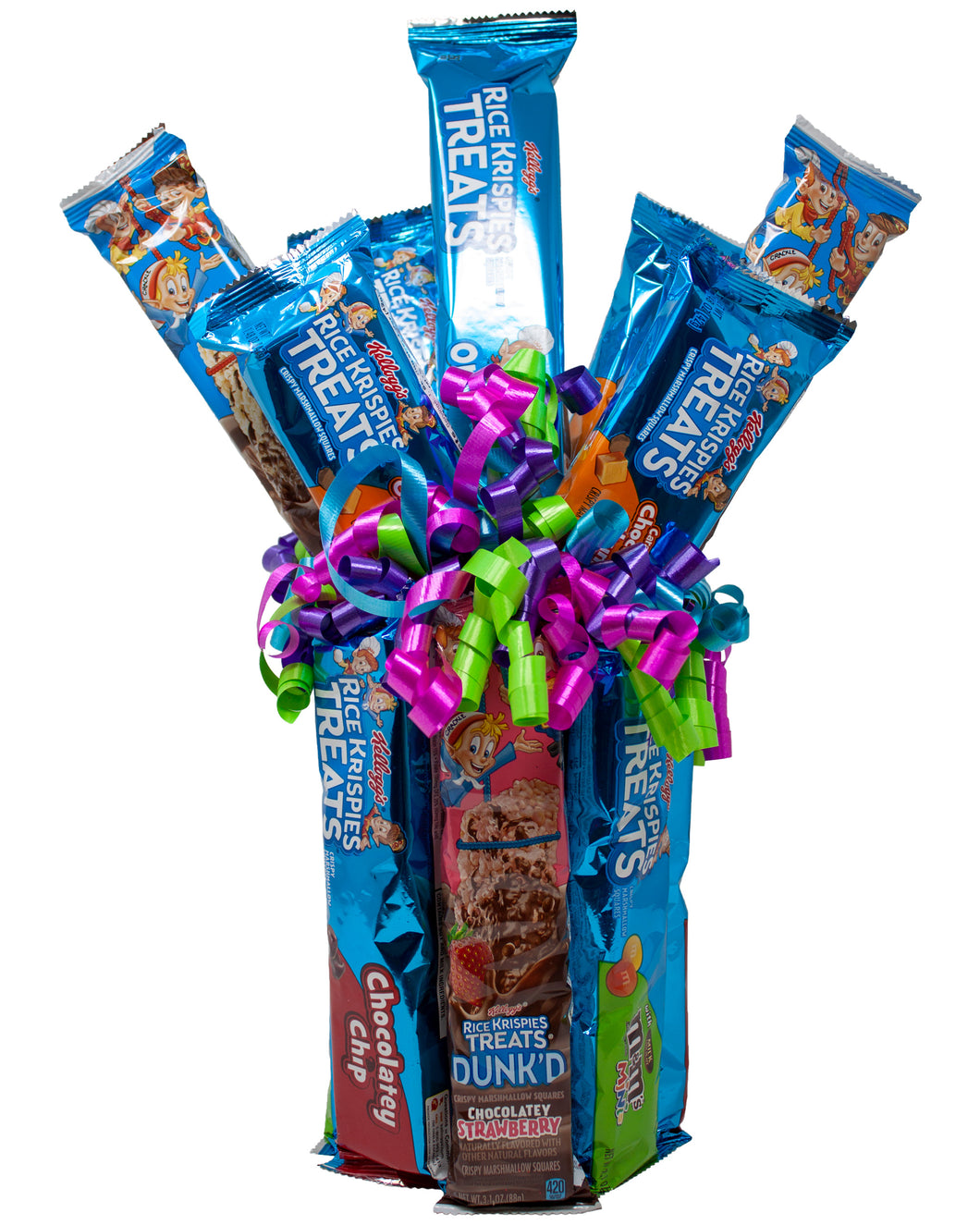 Rice Krispies Treats Sweet Bouquet Featuring the New Dunk'd Flavors