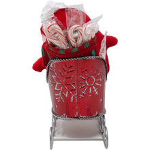 Load image into Gallery viewer, Santas Sleigh Candy Gift Basket Side Alternative