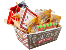 Load image into Gallery viewer, Season's Greetings Holiday Gift Basket
