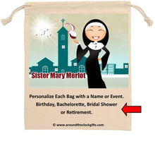Load image into Gallery viewer, Sister Mary Merlot Front
