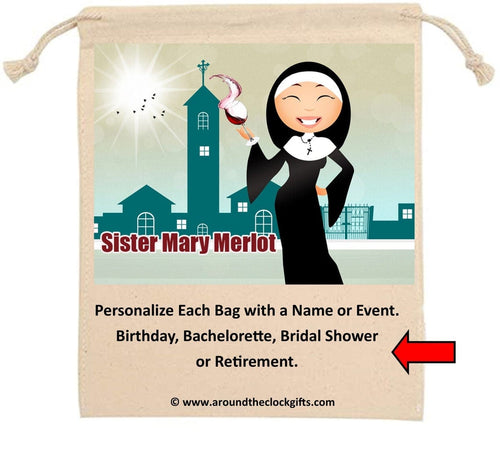 Sister Mary Merlot Front