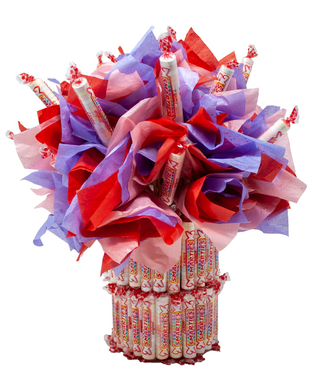 Smarties Candy Bouquet