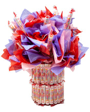 Load image into Gallery viewer, Smarties Candy Bouquet