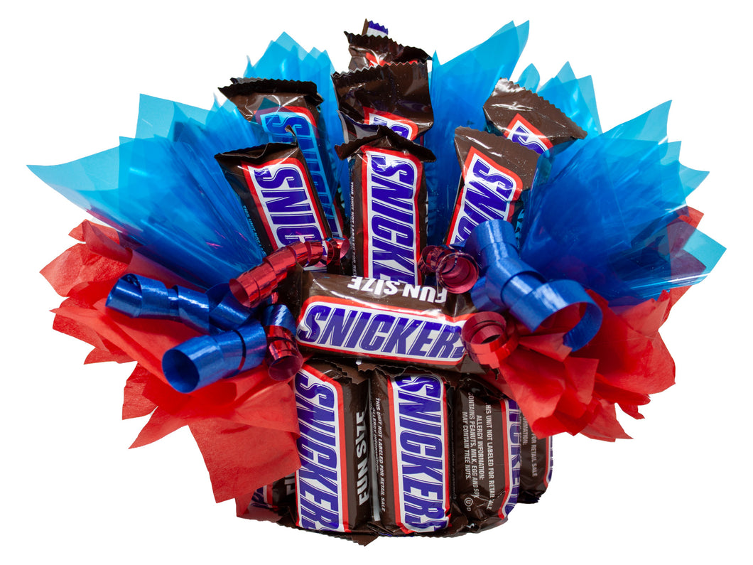 Snickers Fun Size Candy Bouquet You're Not You When You're Hangry